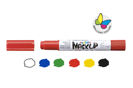 "Crayons de maquillage ""Twist"" - 6 couleurs - Maquillage – 10doigts.fr"
