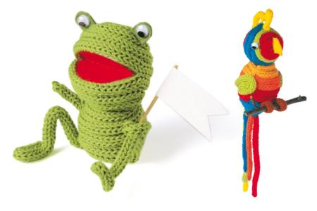Créations avec des tricotins manuel ou automatique - 10doigts.fr