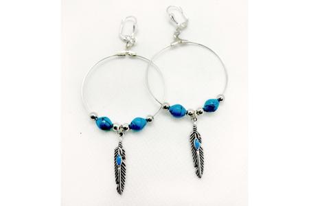 Breloques oiseaux et plumes - 6 pièces - Perles intercalaires & charm's – 10doigts.fr