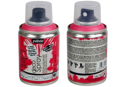 Peinture aérosol DECOSPRAY 100 ml - Set de 10 - Peintures en aérosol – 10doigts.fr
