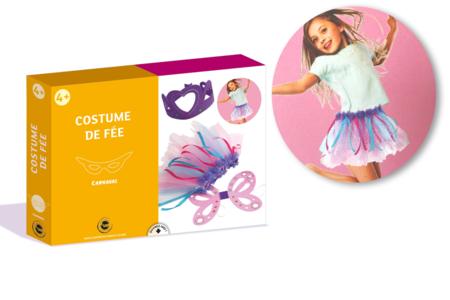 Coffret déguisement - Costume de fée - Mardi gras, carnaval – 10doigts.fr