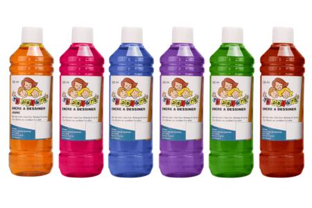 Encres à dessiner 10 DOIGTS - 500 ml - Encres liquides – 10doigts.fr