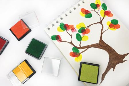Encreurs couleurs primaires - 12 couleurs - Encreurs – 10doigts.fr