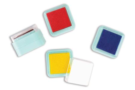 Encreurs colorés - 10 couleurs - Encreurs – 10doigts.fr