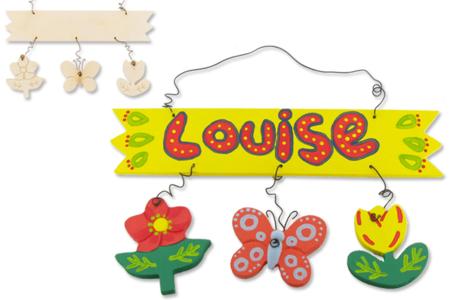 Enseigne - Plaque décorative - Activités enfantines – 10doigts.fr