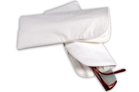 Etui à lunettes en coton blanc - Fête des Mères – 10doigts.fr