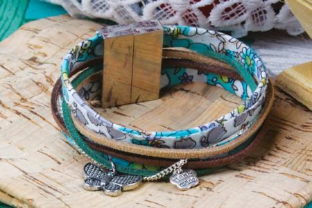 Fermoir aimant argenté pour bracelet - Fermoirs – 10doigts.fr