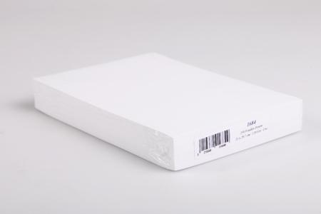 Papier dessin blanc - Format A4 ( 21 x 29.7 cm ) - Carterie – 10doigts.fr