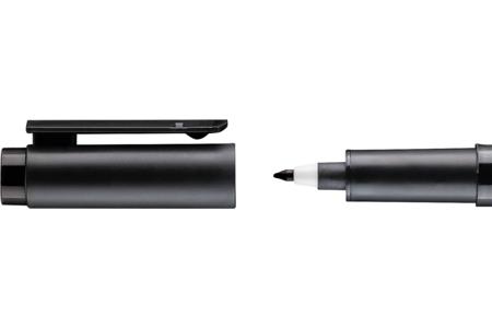 Feutre fin noir pour plastique magique - Marqueurs – 10doigts.fr