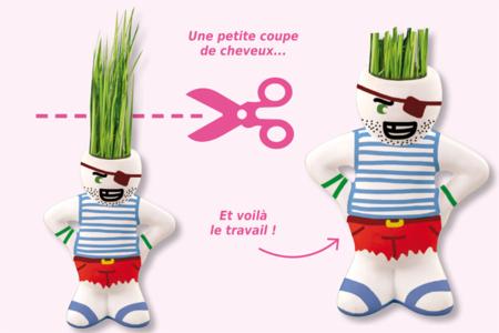 Figurine à coiffer - Supports en Céramique et Porcelaine – 10doigts.fr