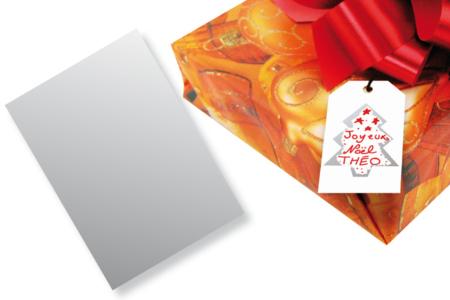 Feuille de film à gratter adhésive - 20 x 15 cm - Feuilles en plastique – 10doigts.fr