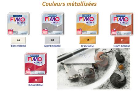Fimo EFFECT - Effet métallique - Fimo Effect – 10doigts.fr