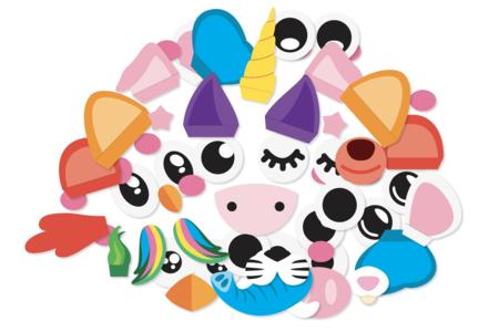 Eléments décoratifs pour ballons - Animaux mignons - Ballons, guirlandes, serpentins – 10doigts.fr