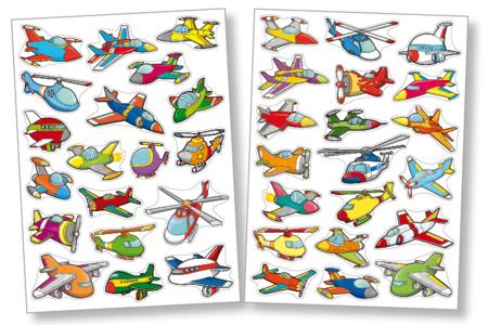 Gommettes avions - Gommettes fantaisie – 10doigts.fr