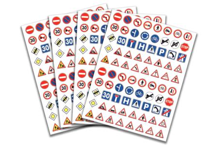 Gommettes Code de la route - Gommettes fantaisie – 10doigts.fr