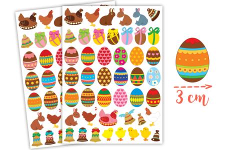 Gommettes de Pâques - 2 planches - Décorations et accessoires de Pâques – 10doigts.fr