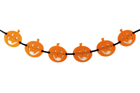 Guirlandes Halloween en feutrine - Halloween – 10doigts.fr