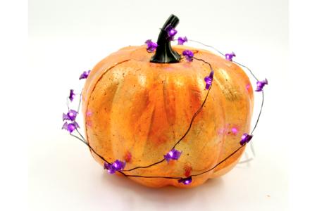 Guirlande lumineuse chauve-souris - 20 LED - Halloween – 10doigts.fr