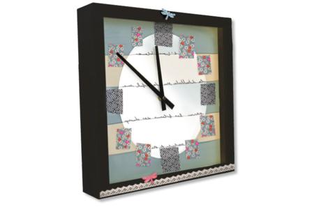 Horloge carrée à poser - Horloges – 10doigts.fr