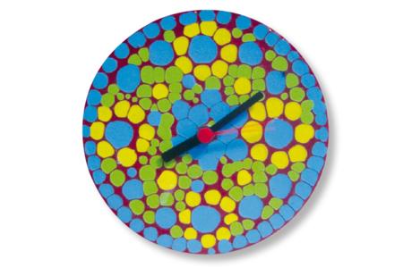 Horloge ronde en bois avec mécanisme à quartz - Fête des Mères – 10doigts.fr