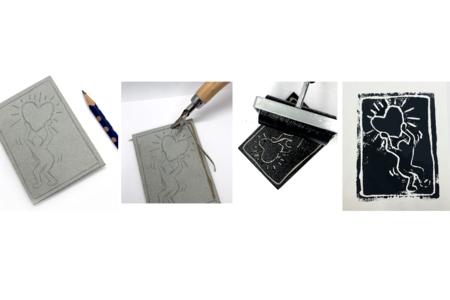 Outil Linogravure 5 gouges - Nouveautés – 10doigts.fr