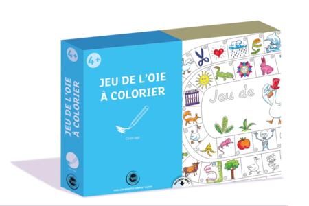 Coffret Jeu de l'oie - Activité Coloriage - Coloriages – 10doigts.fr