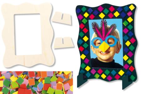 Kit 6 cadres mosaïques - Kits Supports et décorations – 10doigts.fr