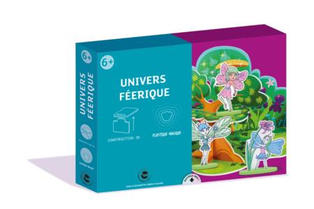 Coffret Féérique - Construction et Plastique magique - Jeu d'assemblage – 10doigts.fr