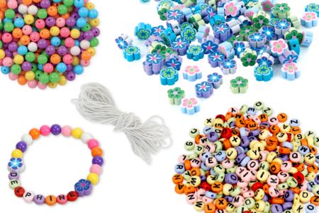 Kit fabrication bracelets Ohana - Kits bijoux – 10doigts.fr