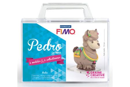 Kit à modeler Fimo - Pedro le Lama - Fimo Soft – 10doigts.fr