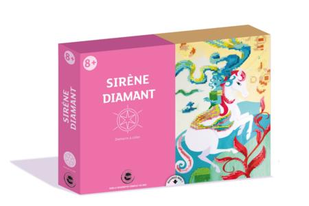 Coffret Sirène - Activité Diamants à coller - Peinture Diamant – 10doigts.fr