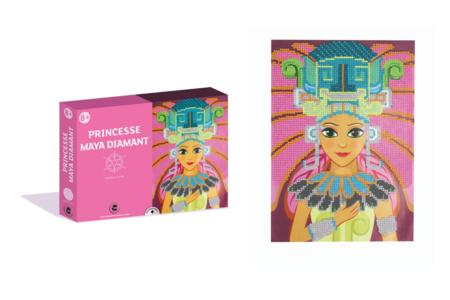Coffret Princesses - Activité Diamants à coller - Peinture Diamant – 10doigts.fr