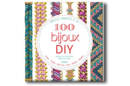 Livre : 100 bijoux DIY - Livres Bijoux – 10doigts.fr