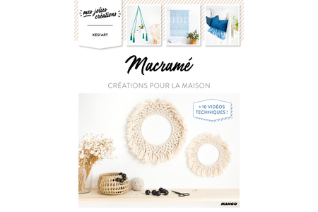 Livre : Macramé - Livres Mercerie, broderie – 10doigts.fr