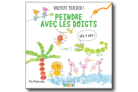 Livre : Peindre avec les doigts - Livres Peinture et Dessin – 10doigts.fr