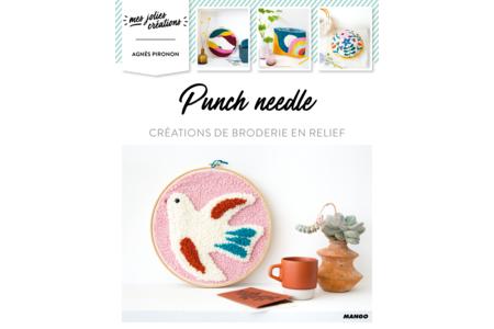 Livre : Punch Needle - Livres de Mercerie – 10doigts.fr