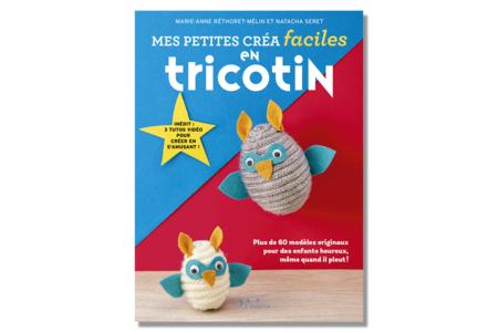 Livre : Petites créa faciles en tricotin - Livres Laine et Tricot – 10doigts.fr