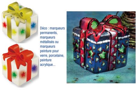 Lot de 6 objets Lumineux en céramique blanche avec LED - Céramiques – 10doigts.fr