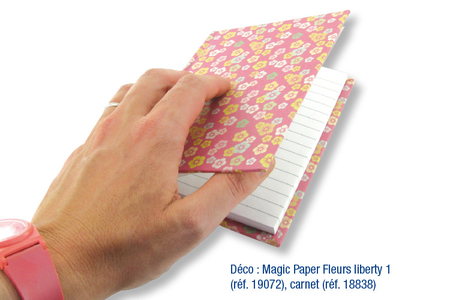 Magic Paper auto-adhésif COEURS Tendres ou Multicolores - Magic Paper – 10doigts.fr