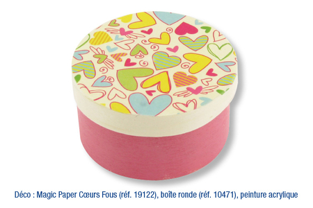 Magic Paper auto-adhésif à POIS Multicolores ou Blancs sur fond bleu - Magic Paper – 10doigts.fr