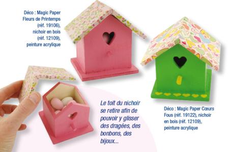Magic Paper auto-adhésif Chevrons - Magic Paper – 10doigts.fr