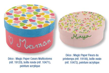 Magic Paper auto-adhésif Fleurs liberty - Magic Paper – 10doigts.fr