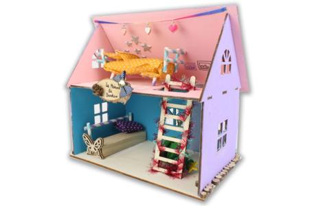 Maison en bois à construire - Maquettes en bois – 10doigts.fr