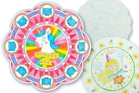 Cahier de coloriage Mandala - 36 pages - Mandalas – 10doigts.fr