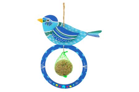 Mangeoires pour oiseaux + boules de graisse - Lot de 6 - Kits activités Nature – 10doigts.fr