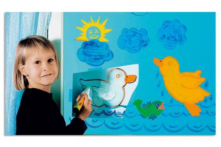 Marqueurs craie économique - Set de 4 couleurs - Craies – 10doigts.fr