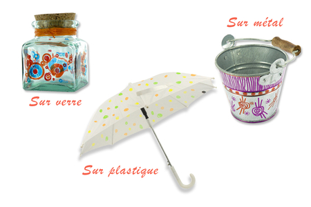 Marqueurs encres permanentes - Multi-support - Feutres Marqueurs Dessin – 10doigts.fr