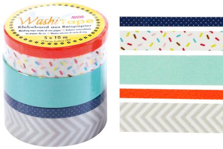 Masking tape - Confetti - Masking tape (Washi tape) – 10doigts.fr