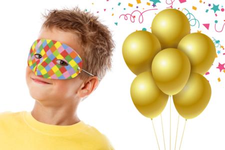 Masque Arlequin - Carnaval, fêtes, masques – 10doigts.fr