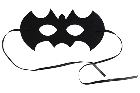 Masque chauve-souris en feutrine épaisse - Halloween – 10doigts.fr